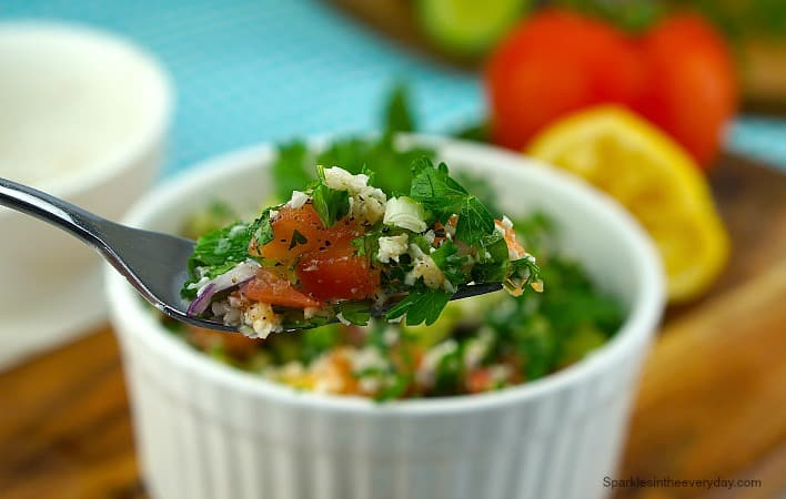 Easy Gluten Free Tabouleh - Sparkles in the Everyday!