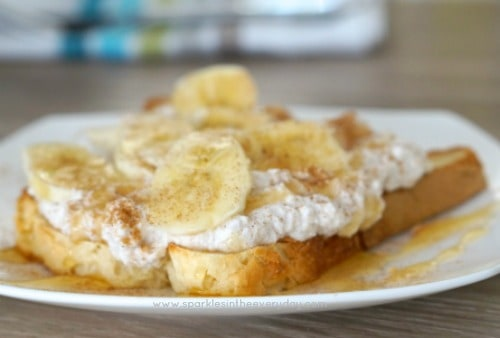 Healthy Ricotta, Honey and Banana on Toast! - Sparkles in ...