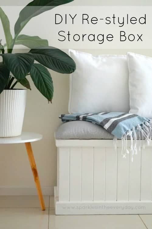 DIY Restyled Storage Box!