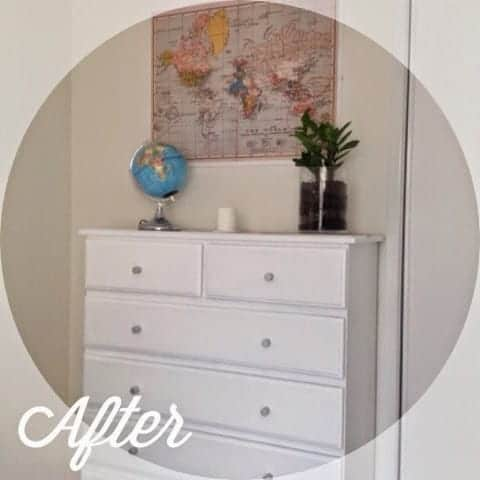 Chest of drawers transformed!