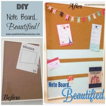 DIY Note Board