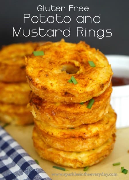 Gluten Free Potato and Mustard Rings!