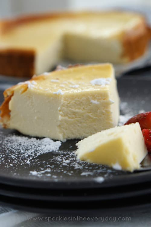 How to make Ricotta Baked Cheesecake (GF)