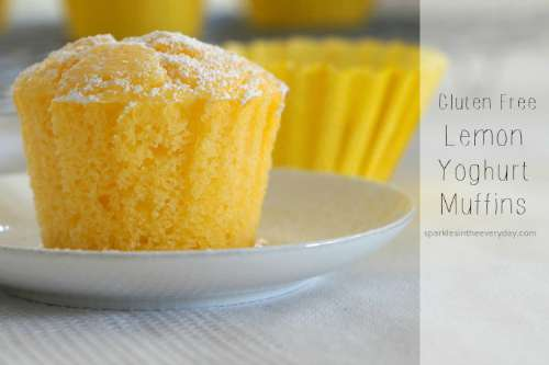 Delicious Gluten Free Lemon Yoghurt Muffins - Top 10 Craft and Recipe Ideas For 2015 from Sparkles In The Everyday!