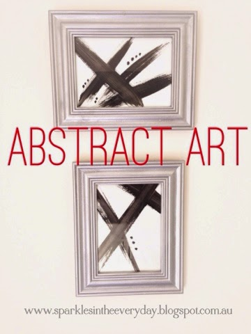 Awesome Abstract Art…done cheaply!
