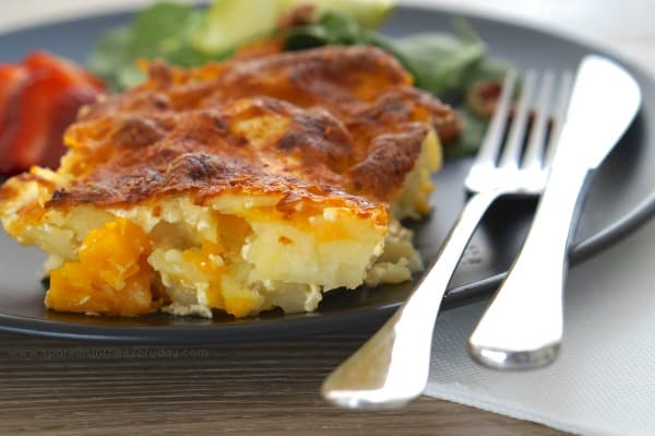 Comforting Pumpkin and Potato Bake - delicious and easy!