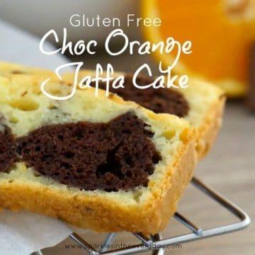 Gluten Free Choc Orange Jaffa Cake Recipe