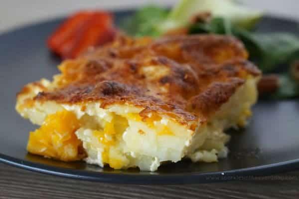 Really Easy Pumpkin and Potato Bake!