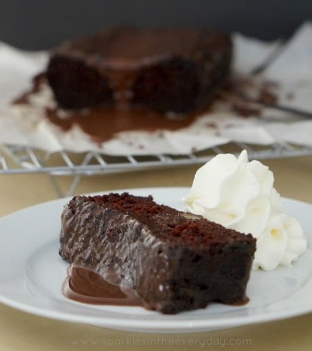 Gluten Free Chocolate Cake - Egg Free