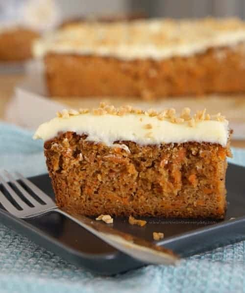 Moist Gluten Free Almond and Carrot Cake recipe!