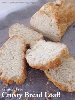 Gluten Free Crusty Bread Loaf!