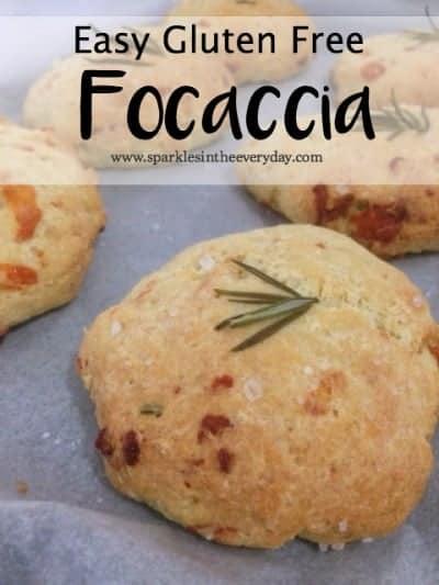 Easy Gluten Free Focaccia.
