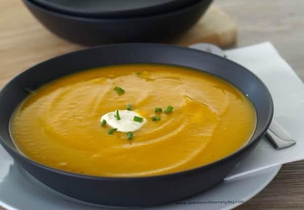 Easy Pumpkin, Carrot and Potato Soup