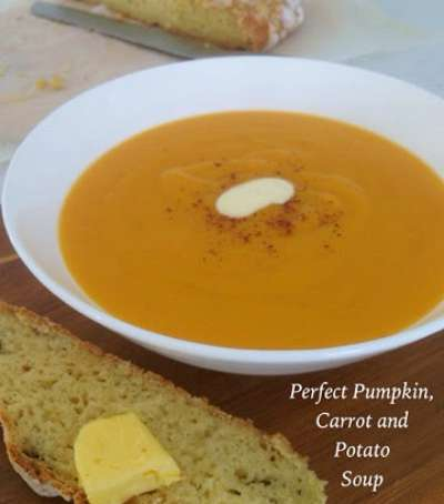 Pumpkin, Carrot and Potato Soup