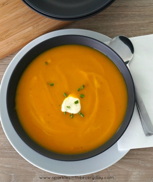 Pumpkin, Carrot and Potato Soup! (GF)