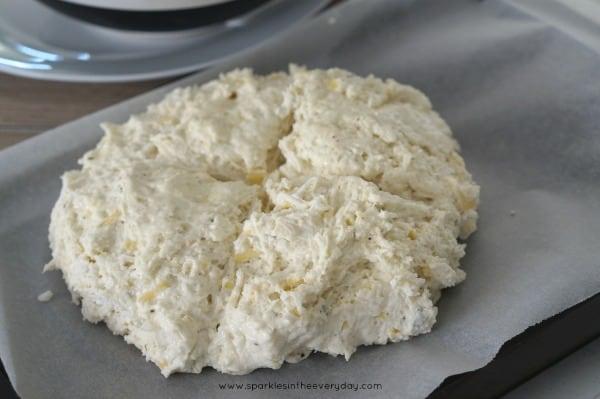 Ready to bake Gluten Free Irish Soda Bread!