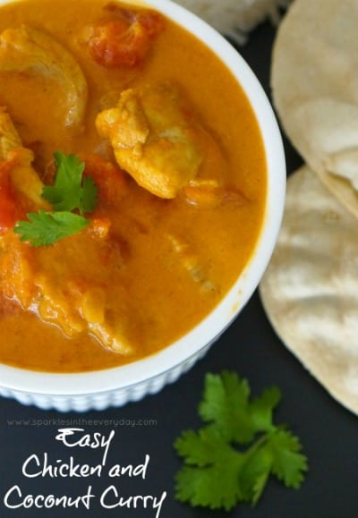 Gluten Free Easy Chicken and Coconut Curry!!