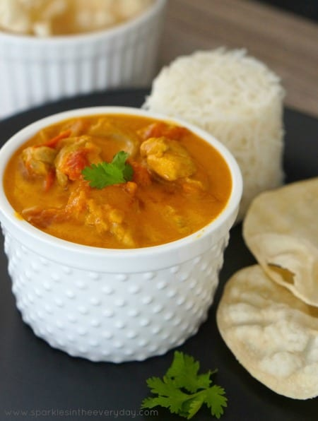 Easy Chicken and Coconut Curry Recipe