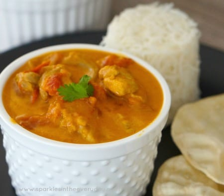 Easy Chicken and Coconut Curry - Gluten Free!