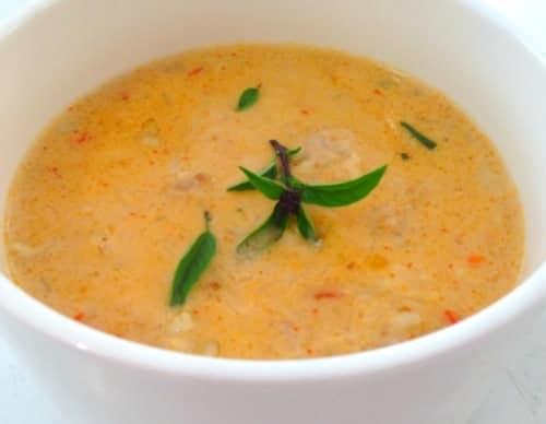 Gluten Free Thai Chicken Soup