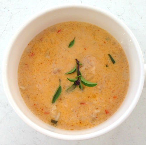 Gluten Free Thai Chicken Soup
