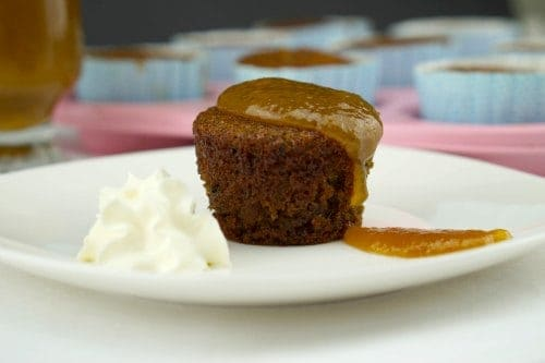 Sticky Date Puddings with Caramel Sauce - Gluten Free