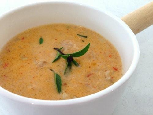 Thai Chicken Soup - Gluten Free!