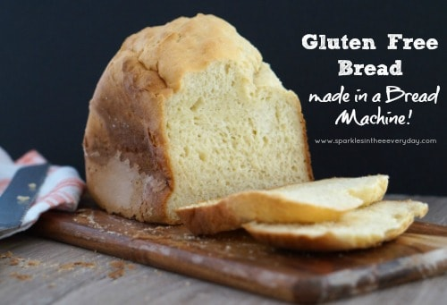 Fresh from the oven Gluten Free Bread in a Bread Machine