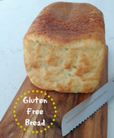Gluten Free Bread made in a bread machine - Top 10 Craft and Recipe Ideas For 2015 from Sparkles In The Everyday!