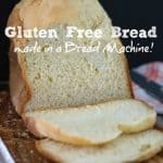 Gluten Free Bread in a Bread Machine