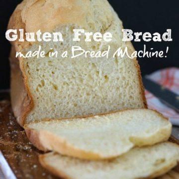 Gluten Free Bread in a Bread Machine