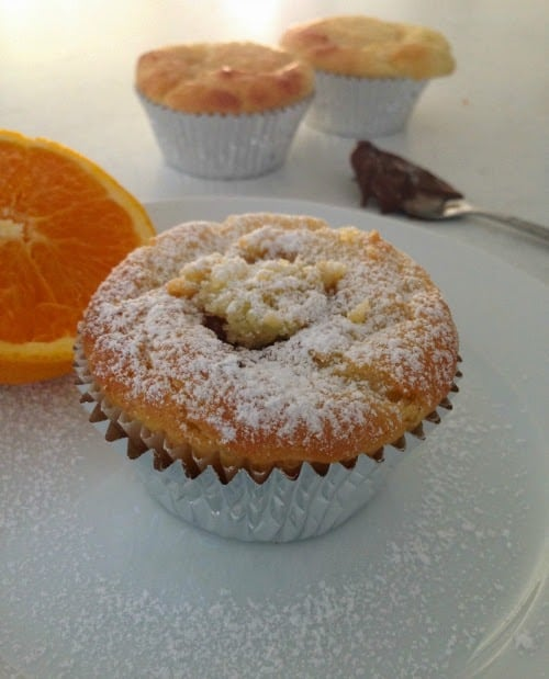 Easy Gluten Free Muffins with orange and chocolate!