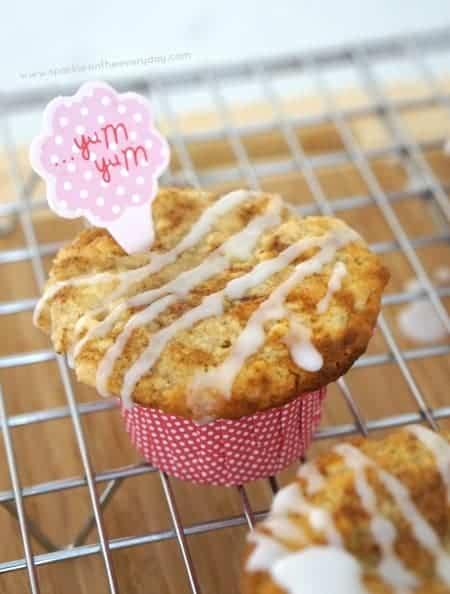 Gluten Free Cinnamon Swirl Muffins!