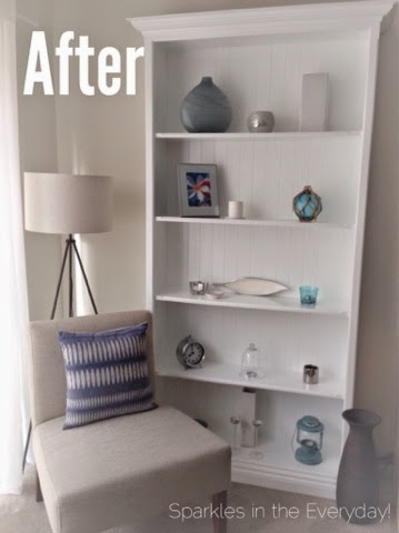 Transforming an Old, Scratched Bookcase!