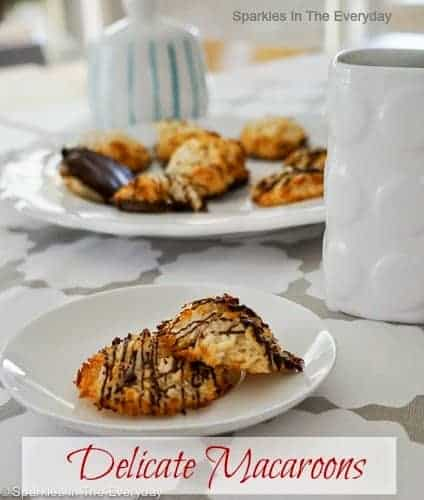coconut macaroons that are gluten free!