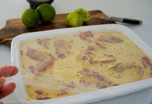 marinating Coconut and Lime Chicken Recipe - gluten free