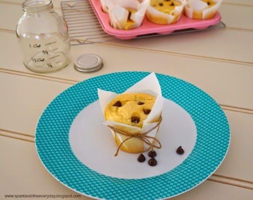 Gluten Free Choc Chip Muffins