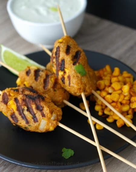 Chicken and Corn Koftas recipe!