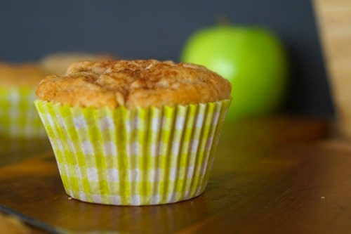 Gluten Free Apple and Cinnamon Muffins