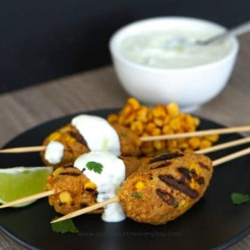 Gluten Free Chicken and Corn Koftas recipe