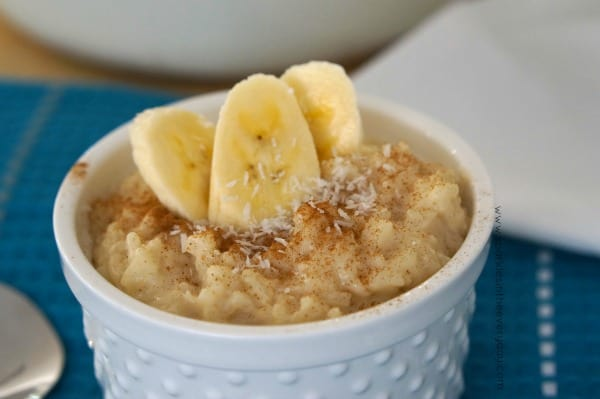 Almond and Coconut Gluten Free Rice Pudding recipe!