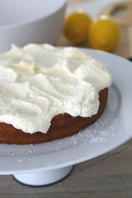 Exquisite Gluten Free Coconut and Lemon Cake recipe!
