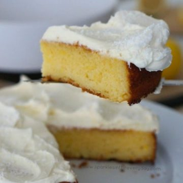 The recipe for The Best Gluten Free Coconut and Lemon Cake!!
