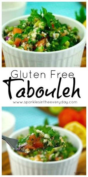 Delicious Gluten Free Tabouleh recipe