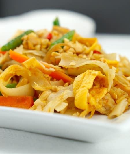 Pad Thai Noodles 1