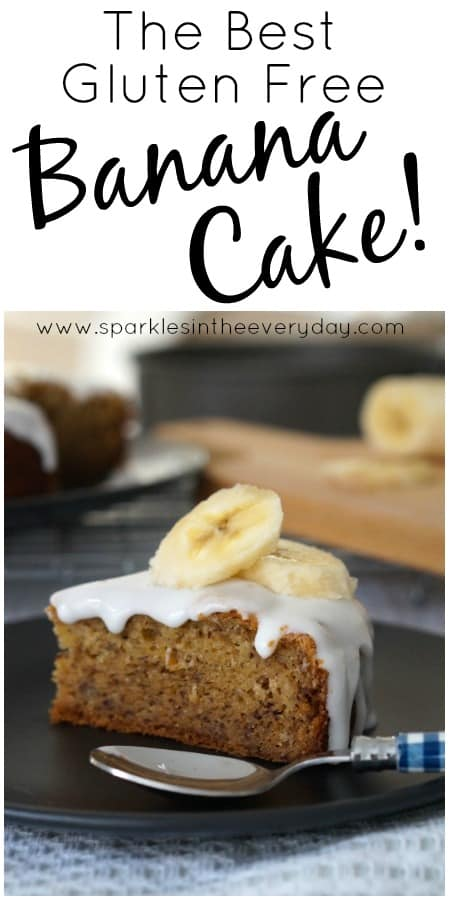 how to make gluten free banana cake