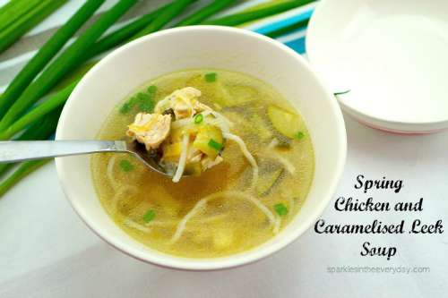 Chicken and Caramelised Leek Soup