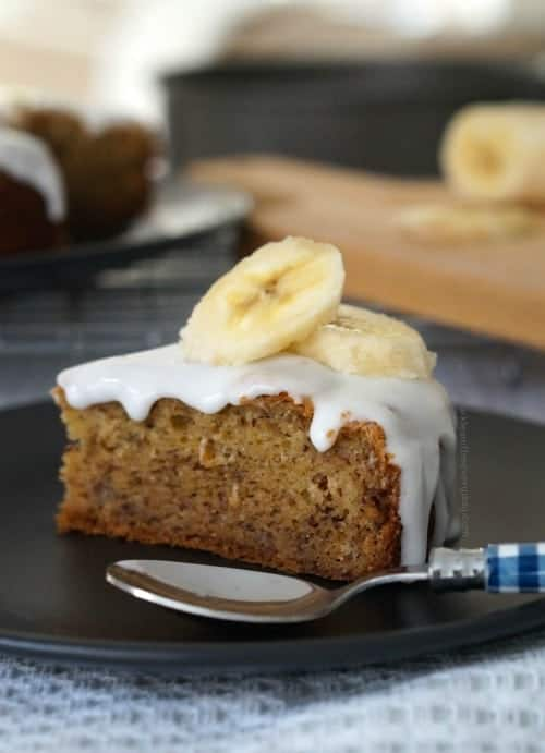 The Best Gluten Free Banana Cake Ever!!