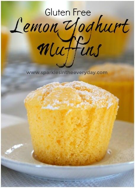 Gluten Free Lemon Yoghurt Muffins!