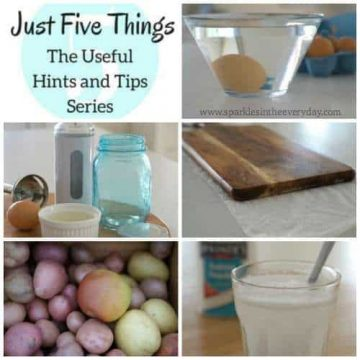 Hints and Tips in kitchen
